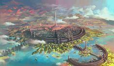The Elder Scrolls, fandom, Oblivion, TES art, Imperial city The Elder Scrolls, Elder Scrolls Games, Elder Scrolls Skyrim, Elder Scrolls Online, Elder Scrolls Oblivion, Fantasy City, Fantasy Castle, Fantasy World, Final Fantasy