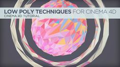 In this tutorial, I go over a few different techniques in Cinema 4D to get that low-poly style that has been popping up around the web lately. I will show you how…
