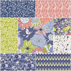 Chic Flora Fat Quarter Bundle