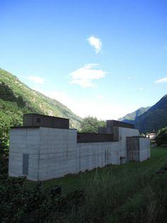 "Peter Märkli ""La Congiunta"" 'Museum of Hans Josephsohn'   Giornico Ticino Switzerland 1986-1992"
