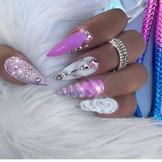 Acrylic Nails are probably the most trending buzzword within the style business now. From Acrylic Nails for Summers to Winters to the number of Acrylic Nail Designs and Acrylic Nail shapes – Discover Glam Nails, Hot Nails, Bling Nails, Stiletto Nails, Beauty Nails, Hair And Nails, Coffin Nails, Glitter Nails, Nail Polish Designs