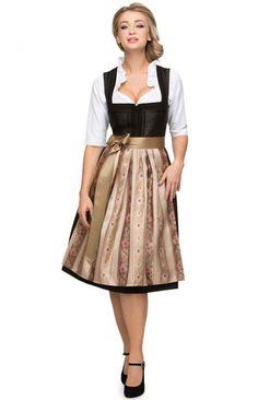 Kleid bordeaux lange armel