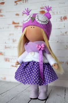 Rag doll Interior doll Home doll Art doll by AnnKirillartPlace