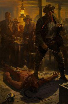ArtStation - Death of Matotaupa, Alexander Deruchenko