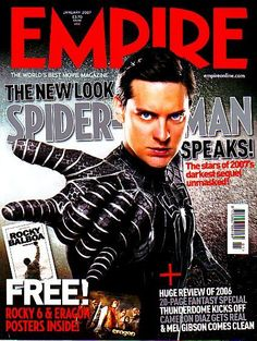Tobey Maguire - Empire Magazine Cover [United Kingdom] (January 2007)