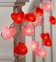 Heart-Shaped String Lights, Set of 2 / HearthSong