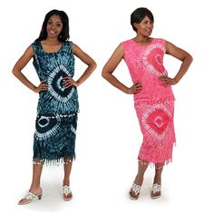 Gambian Tie-Dye Skirt Set  sold by Lester's African Bargains. Shop more products from Lester's African Bargains on Storenvy, the home of independent small businesses all over the world.