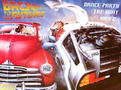 Back to the future party: Wild west, 50s, 80s, the future, mad scientist