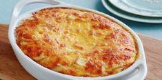 Ένα εύκολο και νόστιμο σουφλέ τυριών που θα λατρέψουν μικροί και μεγάλοι! Cookbook Recipes, Cooking Recipes, Healthy Recipes, Portobello Mushroom Burger, Baked Pasta Dishes, No Noodle Lasagna, Plum Tomatoes, Canned Chickpeas, Sliced Almonds