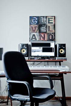 Big Juice's Home Studio