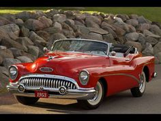 1953 Buick Skylark Convertible....oh when cars were cars.....!!!!