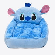 Lovely Pet Bed Dog Cat Fashion House Cartoon-Design Sofa Soft Warm Breathable Puppy Kennel Close Skin Removable Cushion Size M/L