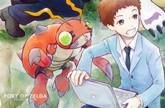 Reunion Digimon Adventure Tri  (click image for... | Port of Zelda: Art Blog