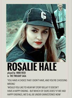 Twilight Movie, Twilight Saga, Rosalie Hale, Nikki Reed, Happy Endings, Poster Wall, Savannah Chat, Vintage Posters, Photo Wall