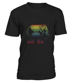 """# Rainbow Elephant Shirt .  100% Printed in the U.S.A - Ship Worldwide*HOW TO ORDER?1. Select style and color2. Click """"Buy it Now""""3. Select size and quantity4. Enter shipping and billing information5. Done! Simple as that!!!Tag: elephant, Irrelephant"""