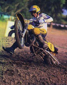 Suzuki RM 250cc 1983 ridden by Kent Howerton
