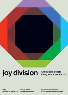 joy division at lyceum theatre, 1980 - swissted                                                                                                                                                                                 More