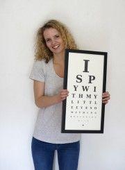 I Spy Eye Chart