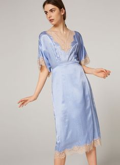 Uterqüe Sweden Product Page - Ready to wear - Dresses and Skirts - Silk camisole dress - 1790