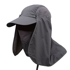 dc6ff533818 Fishing Cap Neck Face Flap Fashion Summer Outdoor Sun Protection Hat Men  Hunting