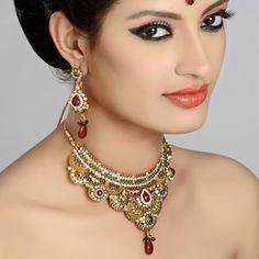 Indian Bollywood Women's Ethnic Traditional Heart Shape Mangalsutra Engagement & Wedding