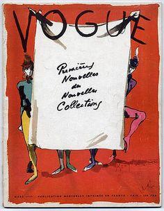Vogue Paris 1949 March Tom Keogh Christian Bérard Bouët-Willaumez Beaton Horst Nepo
