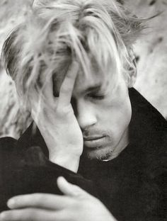 Brad Pitt by Lizzie Bell, via Flickr