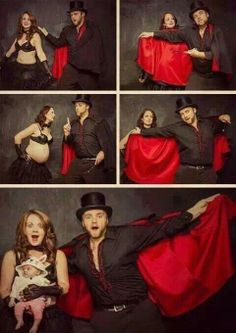 Magician Maternity Pictures