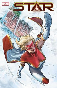 Yesterday, Bleeding Cool told you that the artist on the new Star series from Marvel Comics, spinning out of Captain Marvel and written by Kelly Thompson Marvel Comics, Marvel News, Star Comics, Marvel Comic Books, Marvel Heroes, Kelly Thompson, Univers Marvel, Miles Morales, Alter Ego