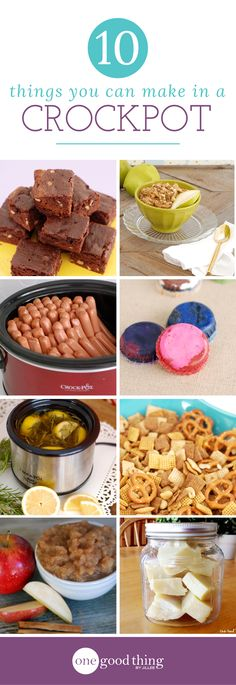 Things You Didn't Know You Could Make In Your Crockpot