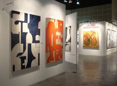Cecil Touchon Paintings at ArtLA Feb. 2013