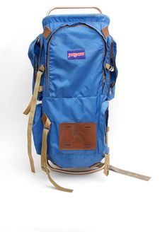 Vintage JANSPORT Backpack . Camping Backpacking by VintageCommon, $65.00