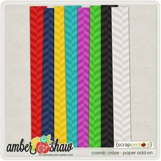 Cosmic Craze paper pack freebie from Amber Shaw