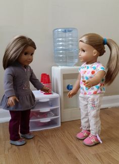 American Girl Doll Crafts and Fun!  Great website, as written by the dolls themselves. :)