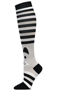 Fox Fashion Compression Socks - 94666  Look fashionable and feel comfortable with this little companion joining you during the job!
