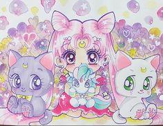Princess Small Lady Serenity, Luna, A