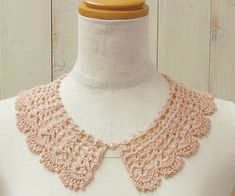 lace collar * Japanese Site