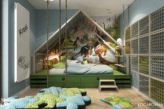 Pokój dziecka Pokój dziecka - zdjęcie od Locaforma