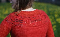 'Lush' cardigan pattern