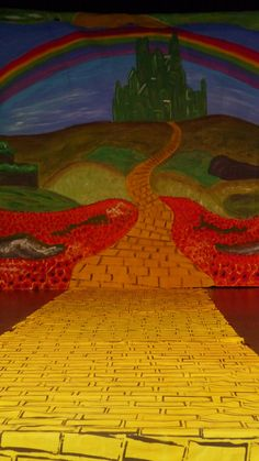 Wizard of Oz stage.  I saw The Wizard of Oz on stage at the Hershey Theatre during the 2009-2010 season