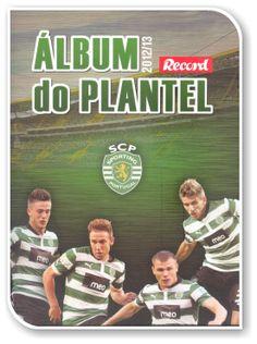 Sporting Clube de Portugal 2012-2013, Álbum do Plantel
