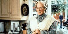"""De """"Jumanji"""" au """"Cercle des poètes disparus"""", en passant par """"Will Hunting"""". Maisie Williams, Robin Williams, Madame Doubtfire, Jumanji, Coppola, Marie Claire, Ruffle Blouse, Culture, Memes"""