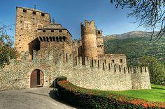 castello di issogne Val D'Aosta