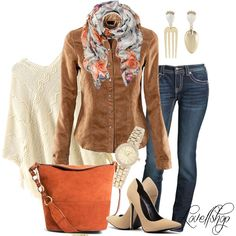 Pumps, Autumn, Watches, Jeans, Earrings, Shirts, Image, Fashion, Ear Rings