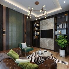 Taking Interiors to the next level? Here's a luxurious, high-end Interior design transformation of a Residential Home. Empire Design, Residential Interior Design, Interiors, Curtains, Stone, Luxury, Home Decor, Blinds, Rock