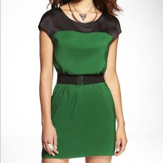 Fun Color Block Dress