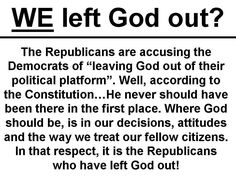 Separation of church and state. Ever heard of it??