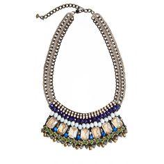 Enjoy an additional 50% off sale styles. Mosi Bead Embellished Bib Necklace