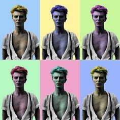 POPart David Bowie