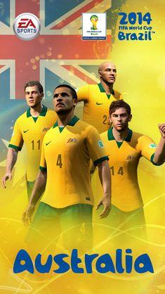 2014 FIFA World Cup Australia #iPhone #5s #Wallpaper